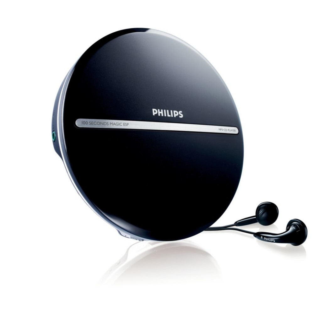 PHILIPS CD-Player EXP2546/12 Black