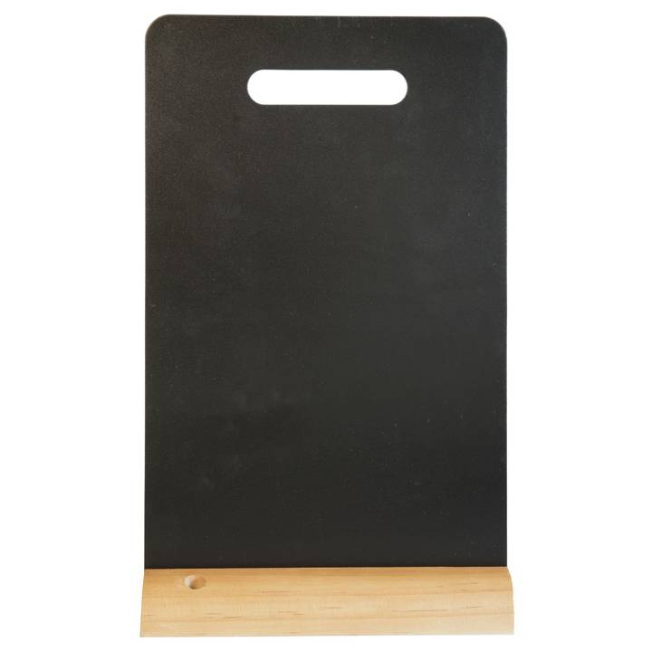 SECURIT Tischkreidetafel Silhouette Mini