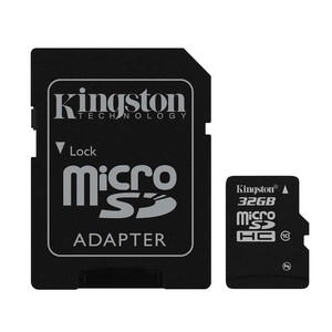 KINGSTON TECHNOLOGY microSDHC 32 GB
