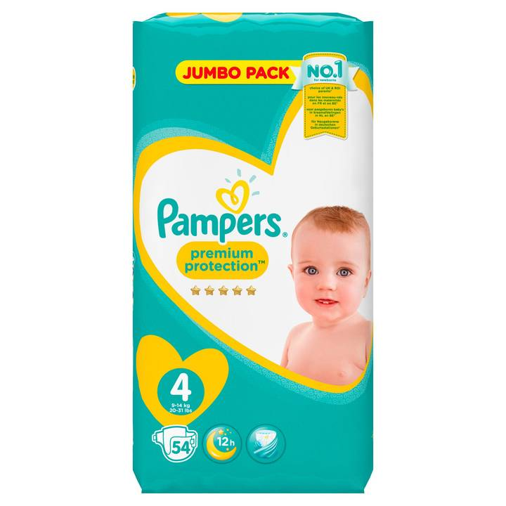 Pampers Premium Protection Gr.4 Maxi 9-1
