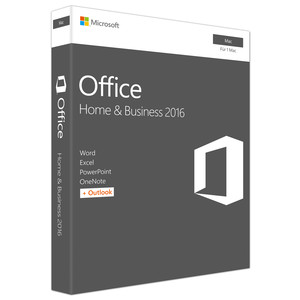 MICROSOFT Office Home and Business 2016 Box Pack für Mac