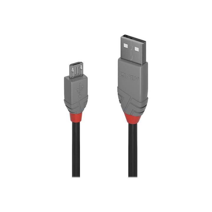 LINDY 5m USB 2.0 Type A to Micro-B Cable