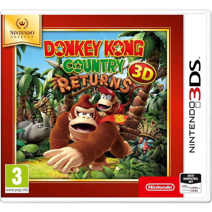 Selects: Donkey Kong Country Returns 3D (IT)