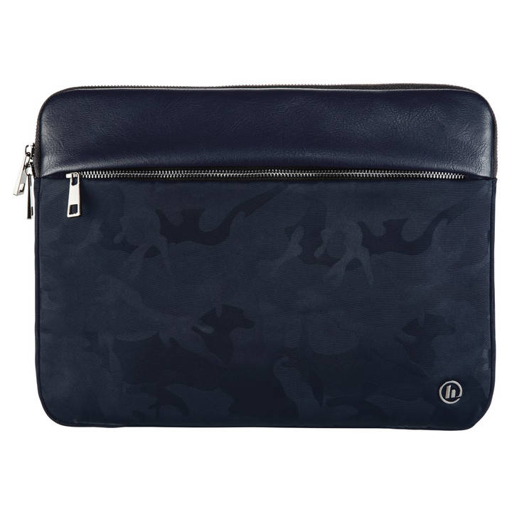 "HAMA Notebook Sleeve ""Mission Camo"" 15,6"" Navy Blue"