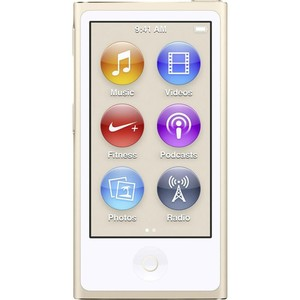 APPLE Digitalplayer iPod Nano MKMX2QG/A Gold