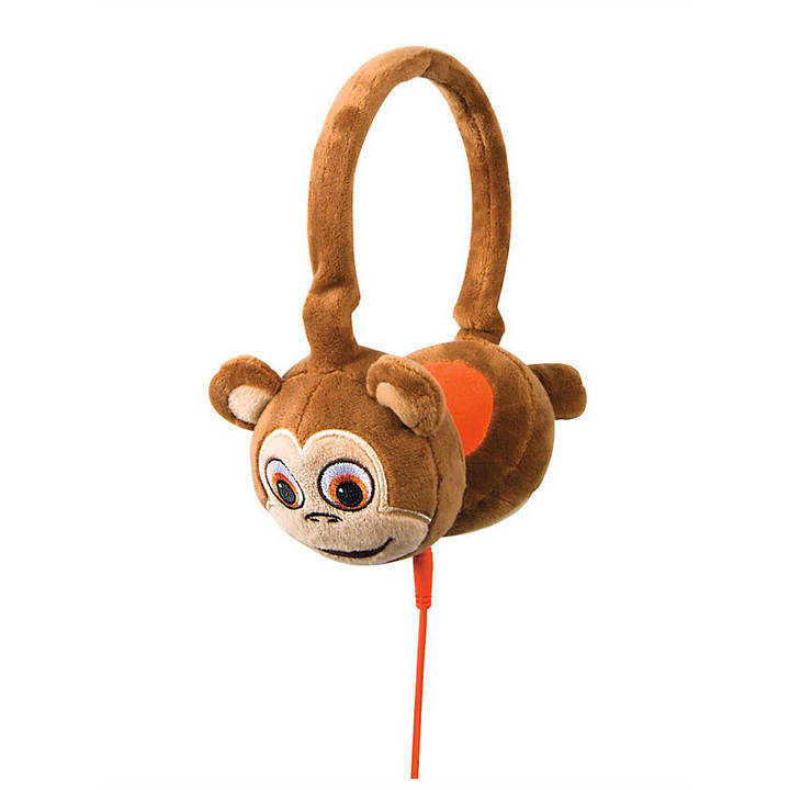 On-Ear-Kinderkopfhörer Plush Monkey