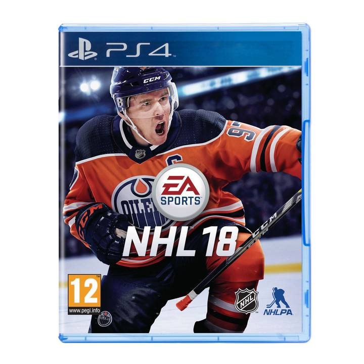 NHL 18 PS4 Alter: 12+
