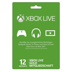 MICROSOFT Xbox One Live Card Gold Member