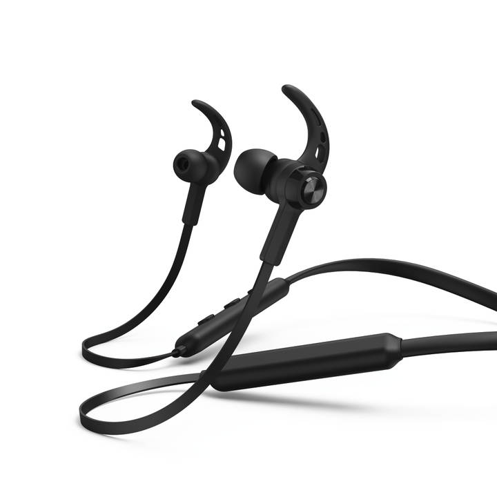 HAMA Connect Neck Mobiles Headset, Schwarz
