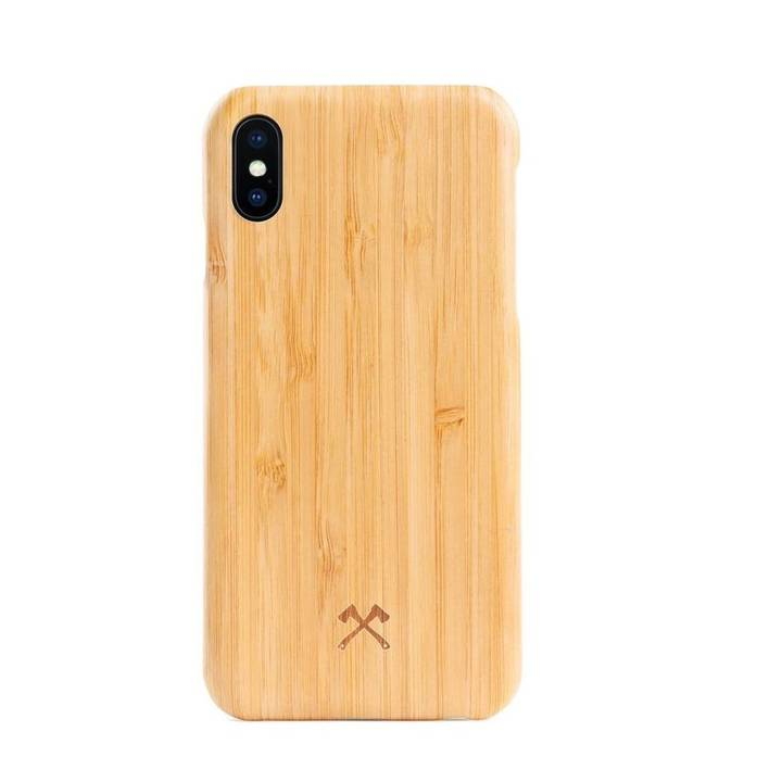 WOODCESSORIES Backcover EcoCase Kevlar für iPhone 7 / 8 Bambus
