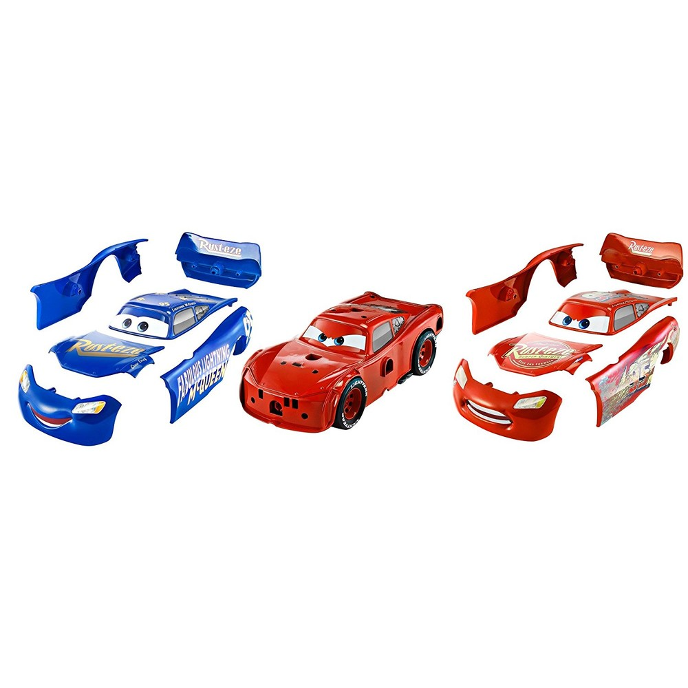 MATTEL Disney Pixar Lightning McQueen 2 in 1