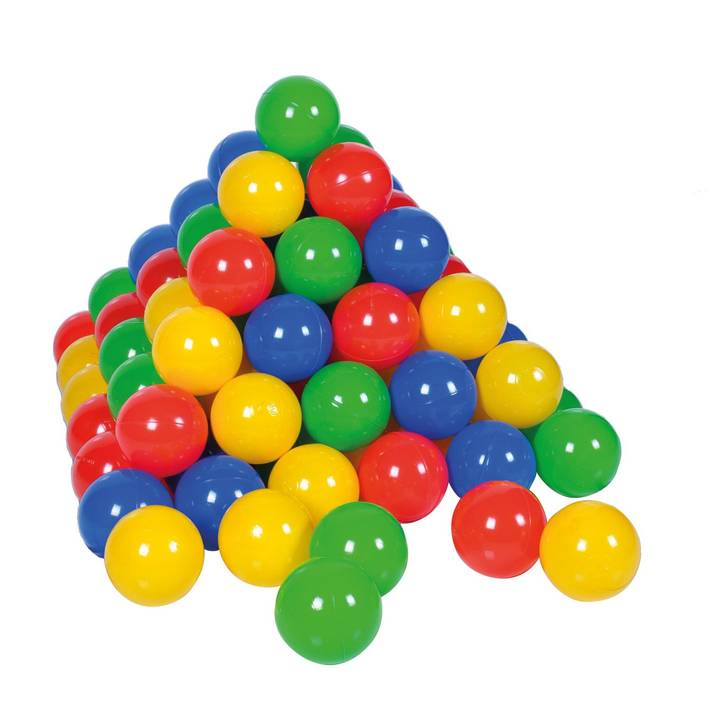 Bälleset Ø6 cm - 100 balls/colorful/ Alt