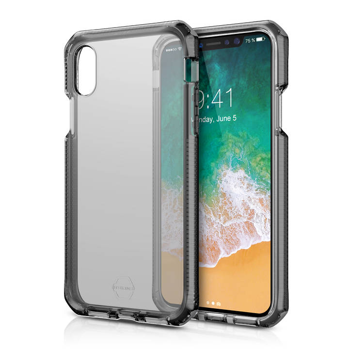 ITSKINS Backcase Supreme für iPhone X Black