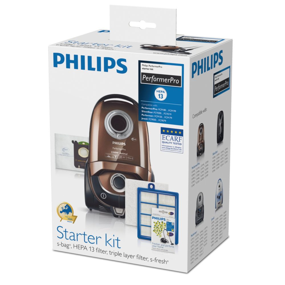 PHILIPS PerformerPro Starter Kit FC8060 / 01