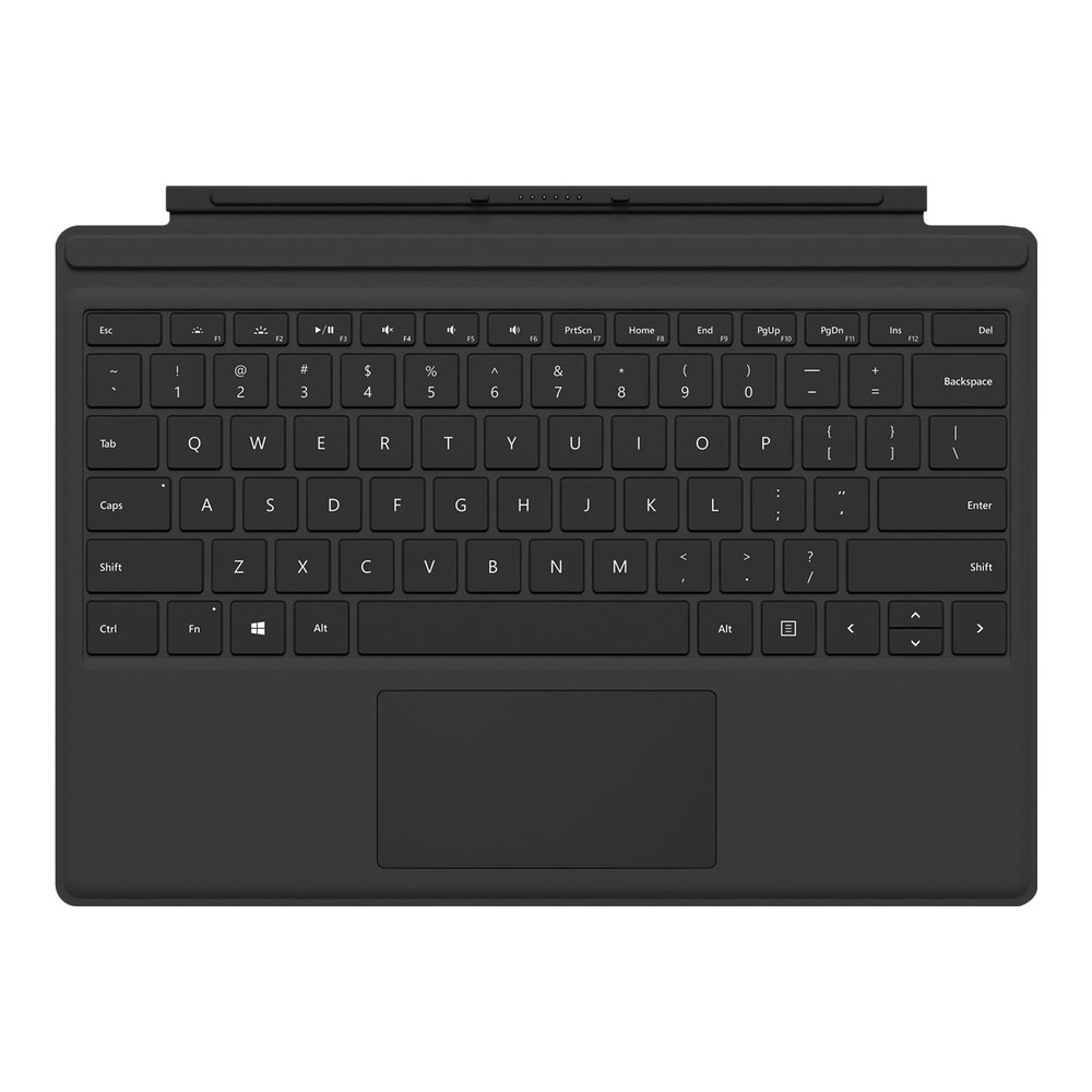 MICROSOFT Surface Pro Type Cover (M1725) Englisch Black