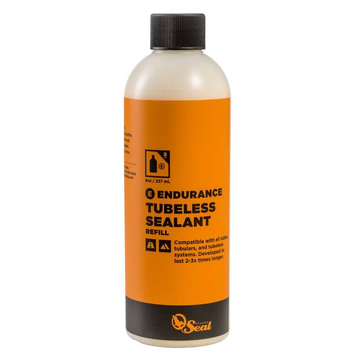 ORANGE SEAL Tubeless-Milch Naturlatex-Dichtmilch ENDURANCE, 0.24 l