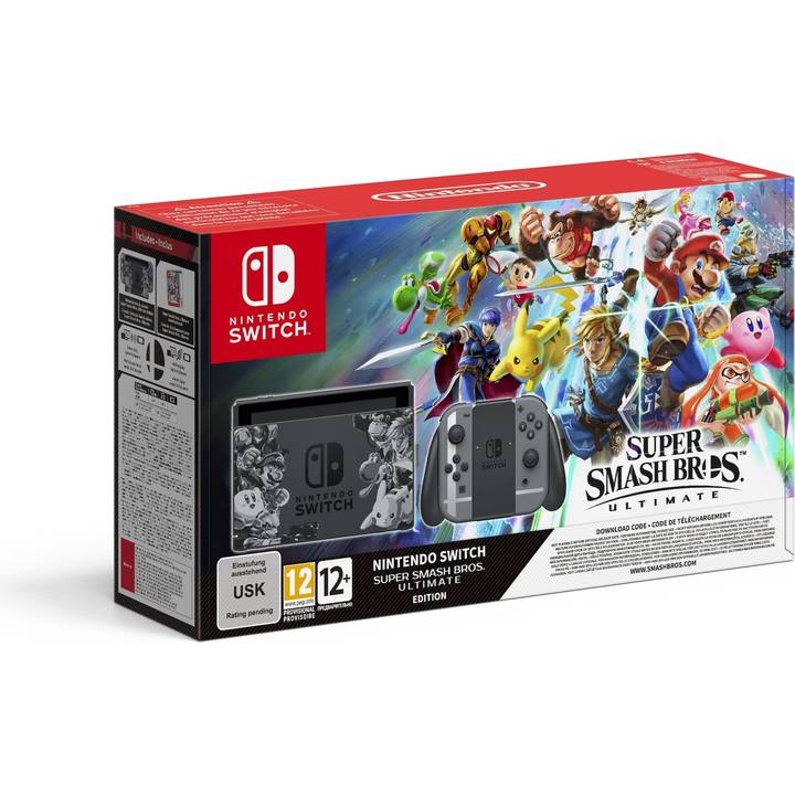 NINTENDO Switch Super Smash Bros. Ultimate Edition (DE/FR/IT)