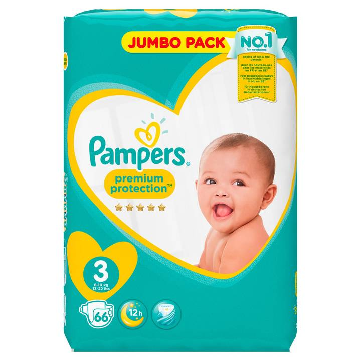 Pampers Premium Protection Gr.3 Midi 6-1