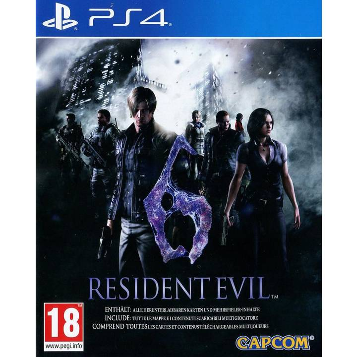 Resident Evil 6 HD, PS4 Alter: 18+