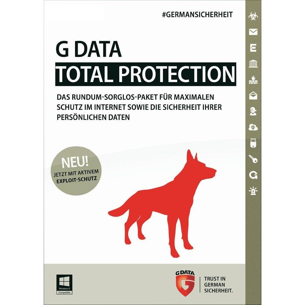 G DATA Total Protection 2015 Swiss Edition