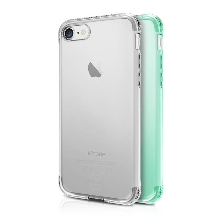 ITSKINS Duo Backcover für iPhone 7/8 GR/Clear