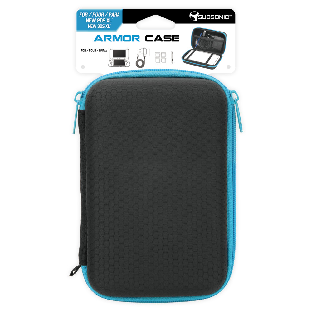 NINTENDO 2DS XL Armor Case Blue