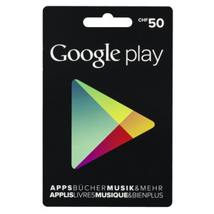 GOOGLE Play Card 50