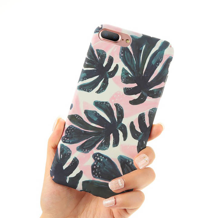 EG FLOVEME Backcover für Apple iPhone 6 6S Plus - Leaves_4