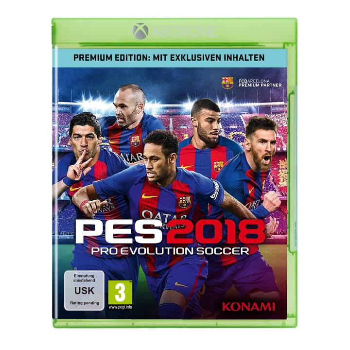 Pro Evolution Soccer 2018 Premium Edition (DE/FR/IT)