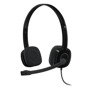 LOGITECH On-Ear Headset H151 Black