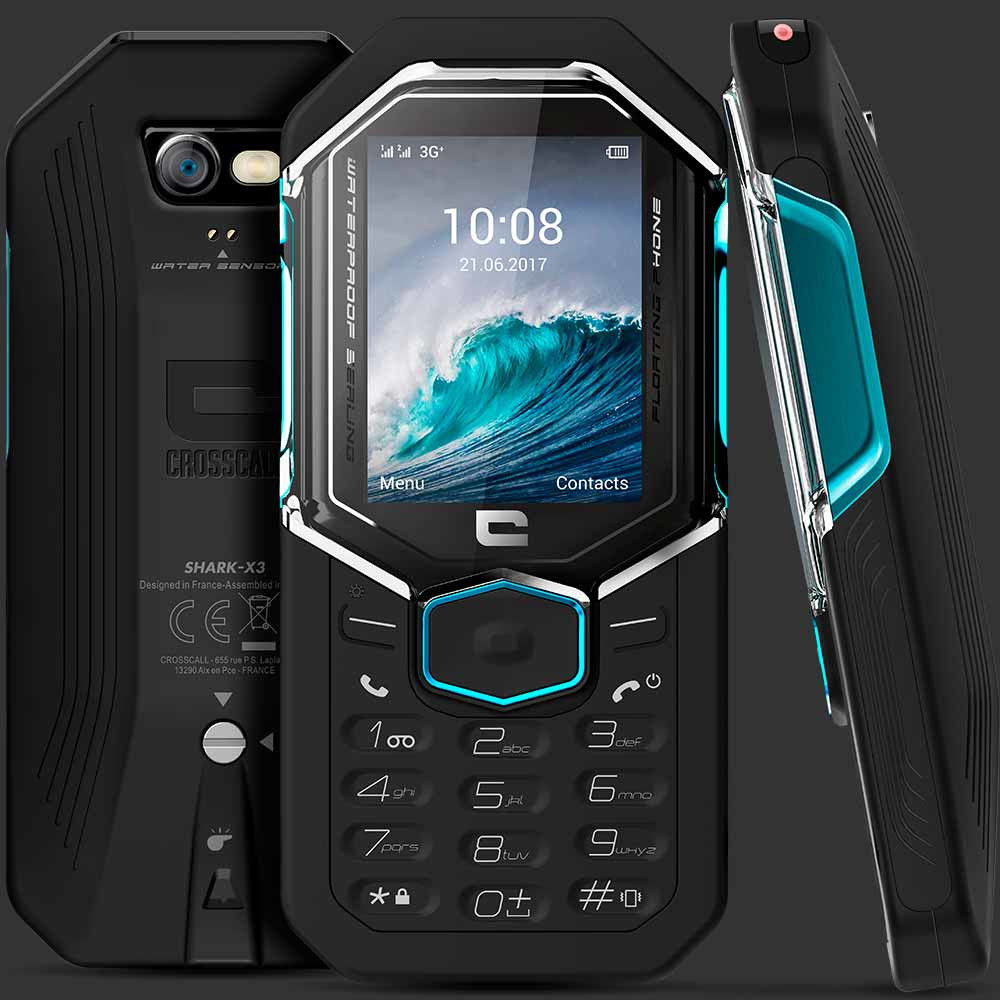 CROSSCALL Shark-X3, 64 MB, Dual SIM, Black