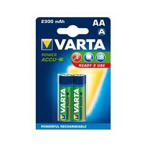 VARTA 1x2 Ready2Use Wiederaufladbare Batterien