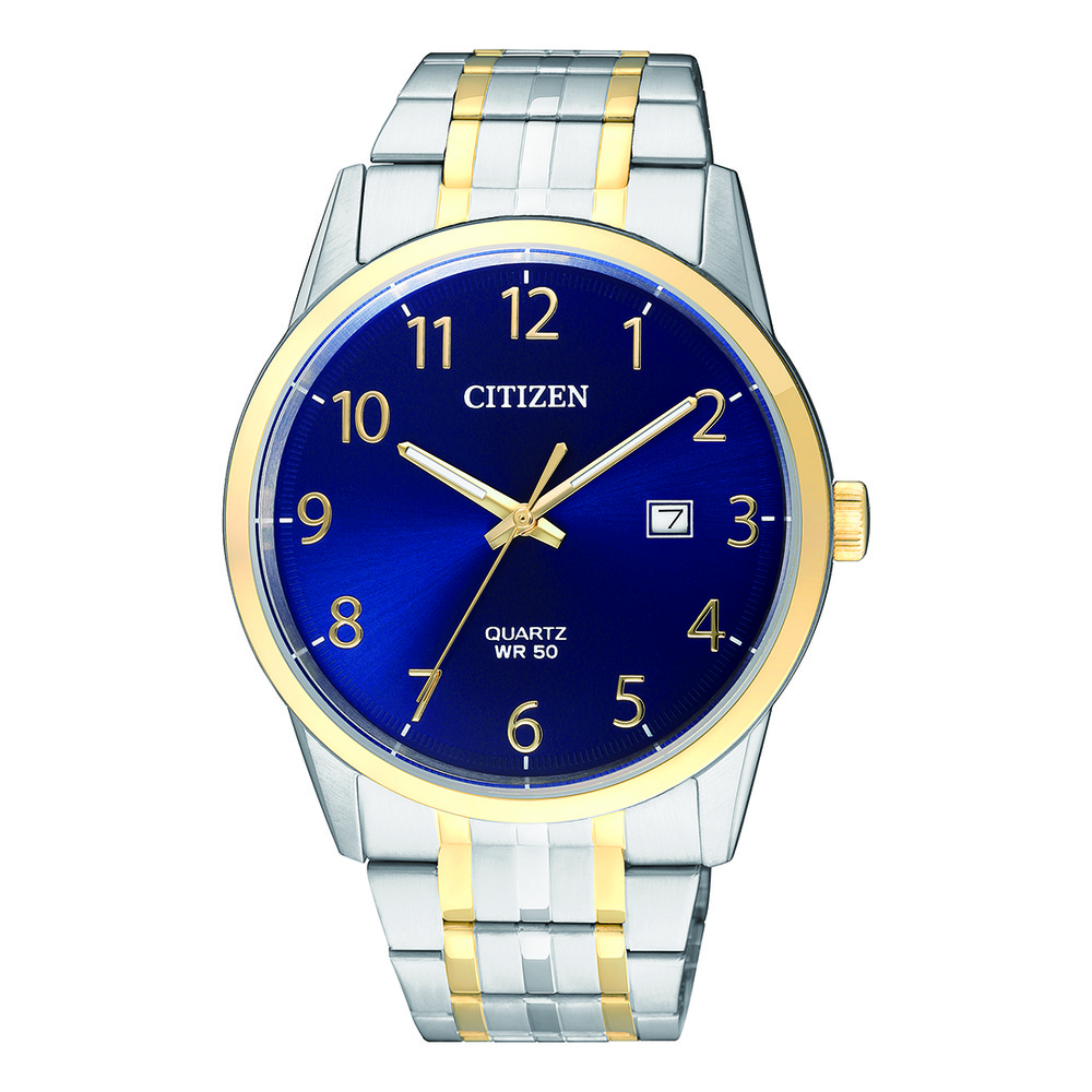 CITIZEN BI5004-51L Blue/Silver/Gold