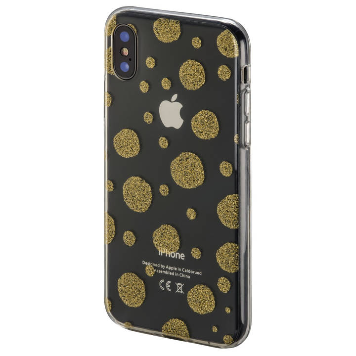 Cover Golden Circles für Apple iPhone X,