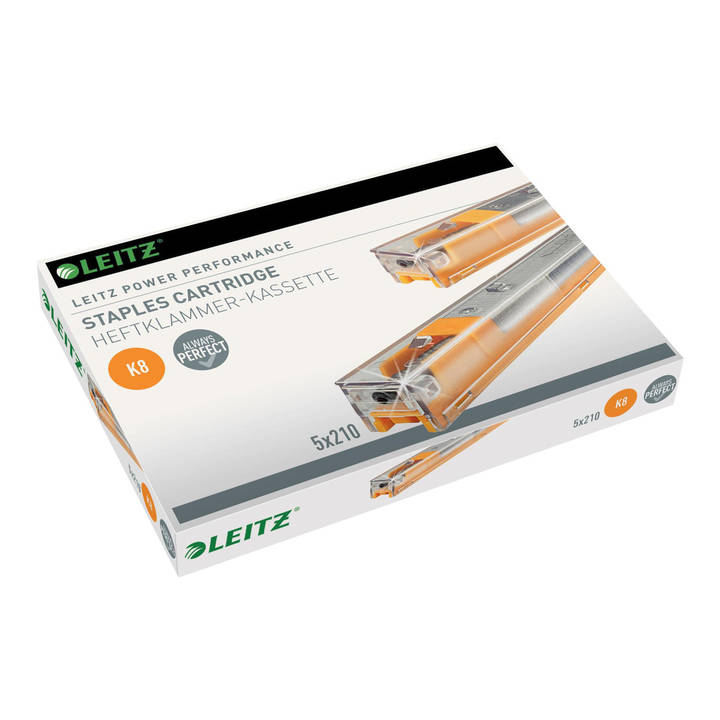 LEITZ Power Performance K8 Heftklammerkassette