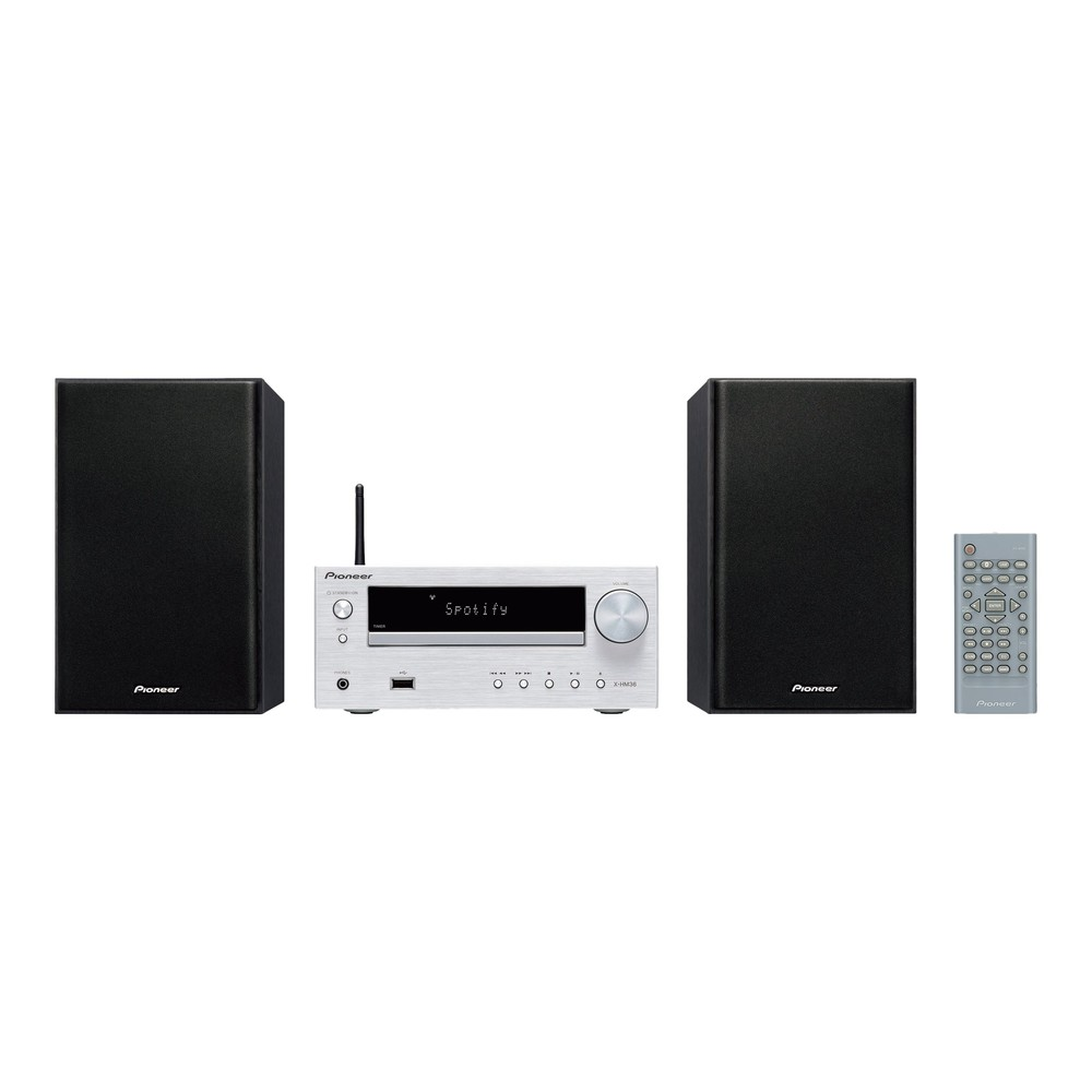 Pioneer X-HM36D-S, Micro-HiFi System sil