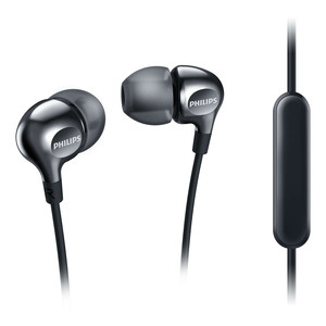 PHILIPS In-Ear Kopfhörer SHE3705BK/00 Black