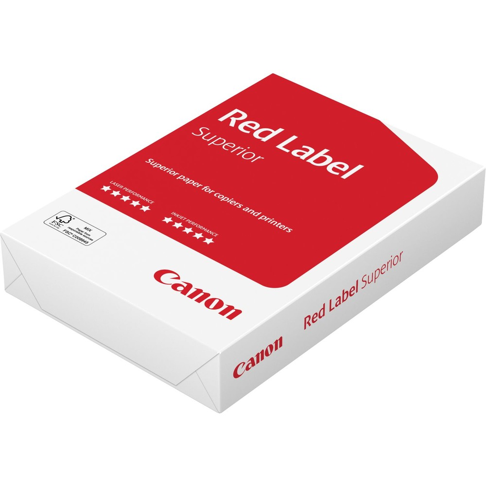 CANON Druckerpapier Red Label 500 Black/White