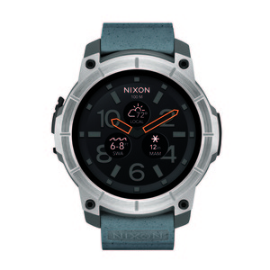 NIXON Smartwatch The Mission Grey