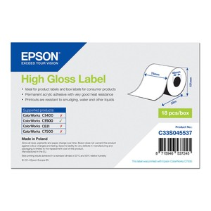 EPSON Gloss Label