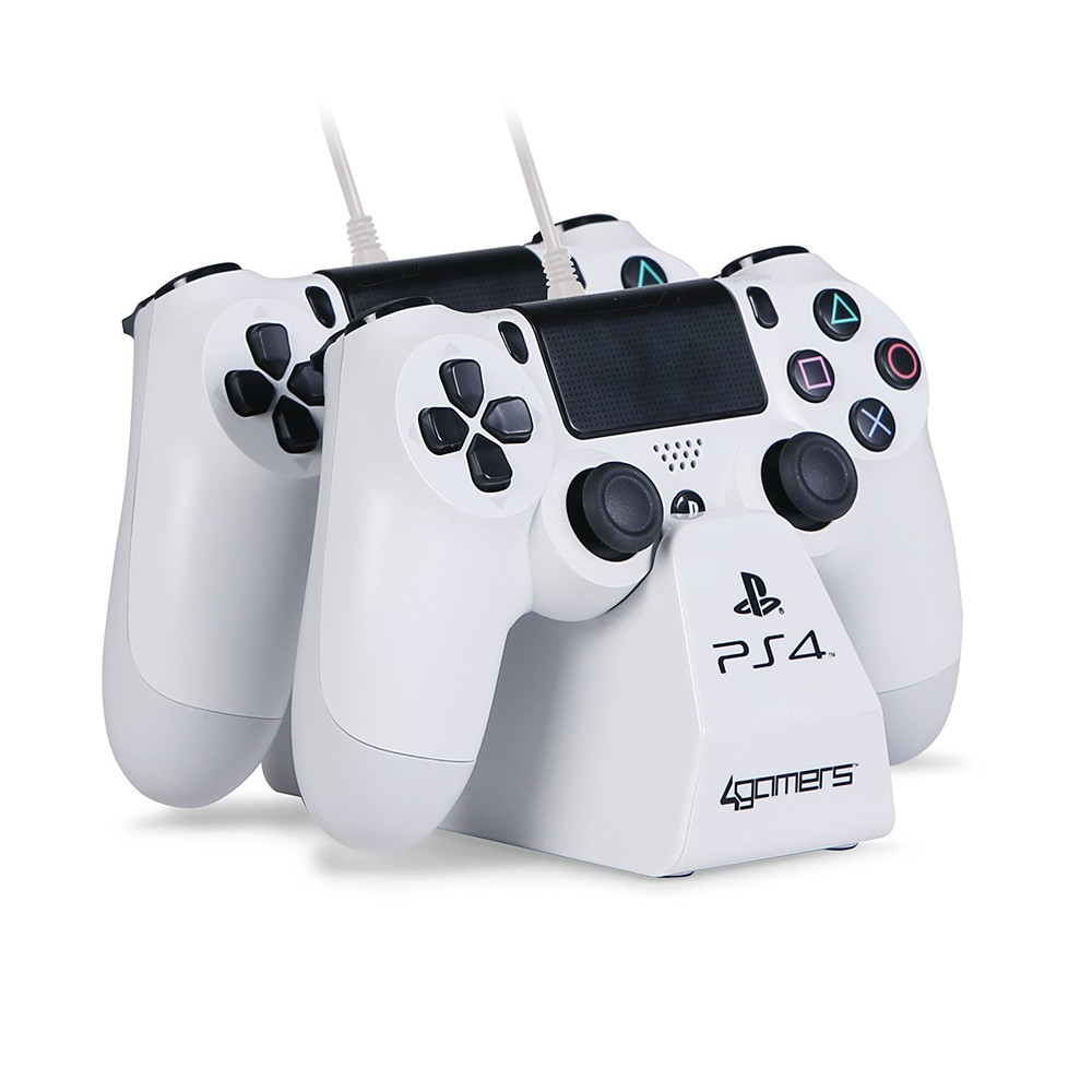 4GAMERS PS4 Dual Charge'n'Stand