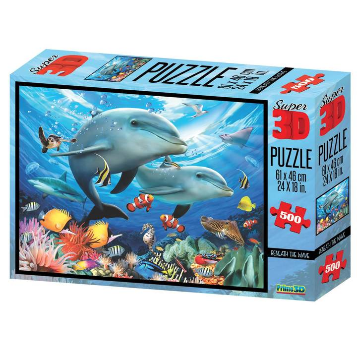 National Geo 3D Puzzle Beneath the Waves