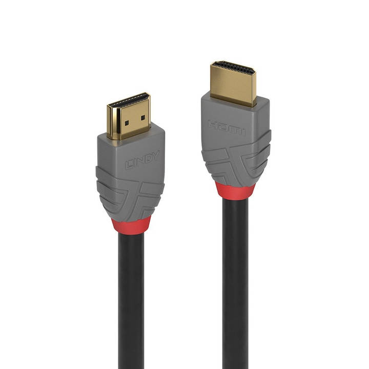 LINDY 2m HDMI High Speed HDMI Cable Anth