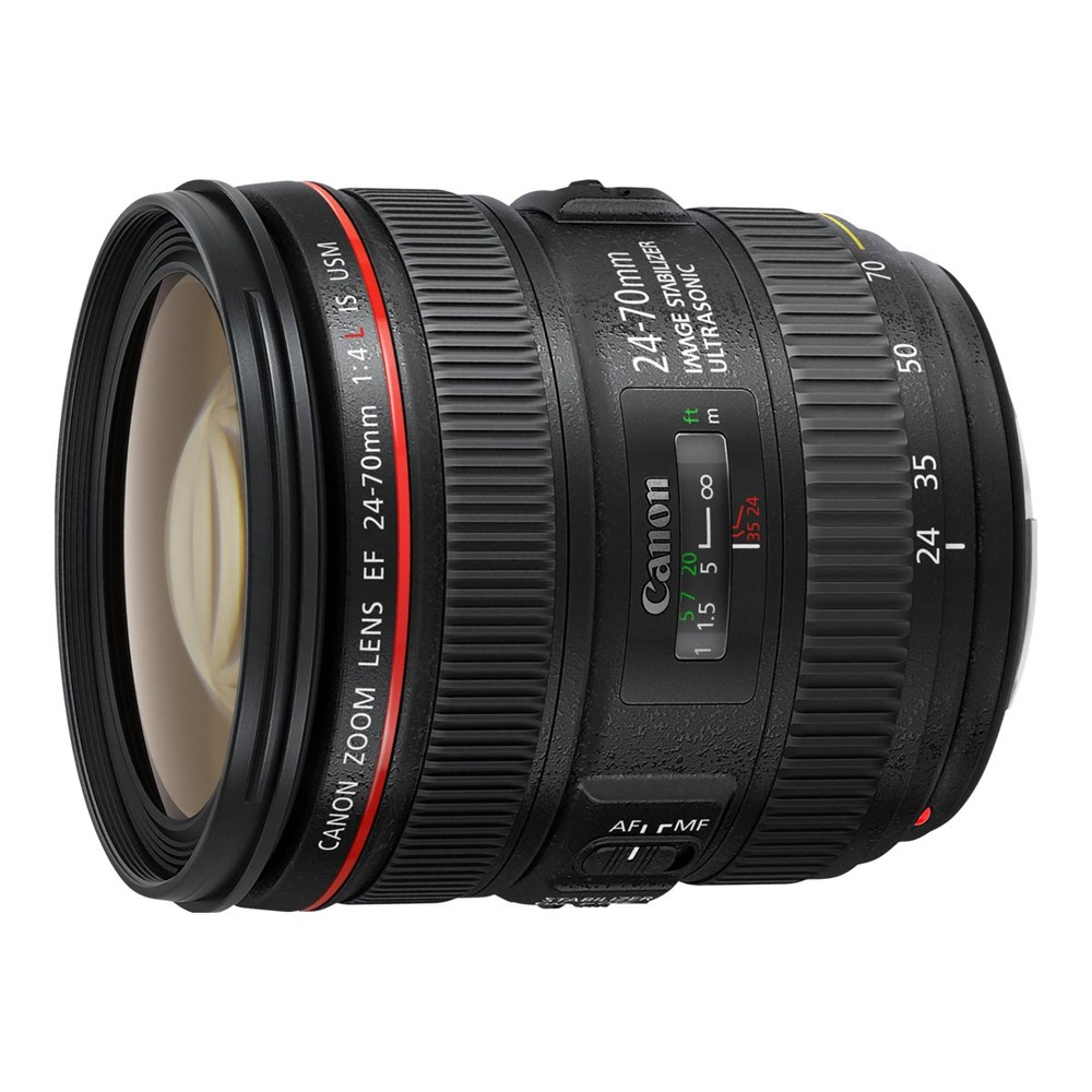 CANON EF IS USM 24 - 70 mm f/4,0