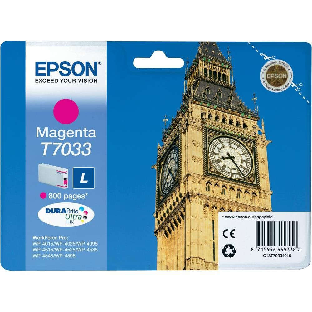 Epson Ink Cartridge, magenta