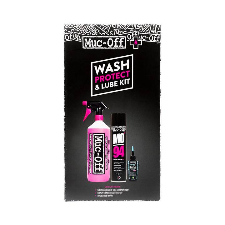 MUC-OFF Pflegeset Wash, Protect and Lube
