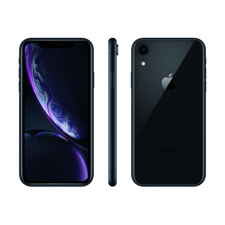 APPLE iPhone XR 256 GB Schwarz