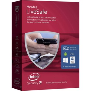 MCAFEE LiveSafe 2016 Unlimited Devices