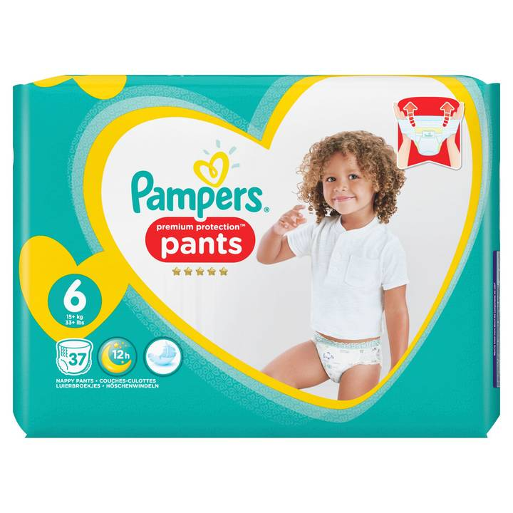PAMPERS Windeln Premium Protection Pants Jumbopack Grösse 6