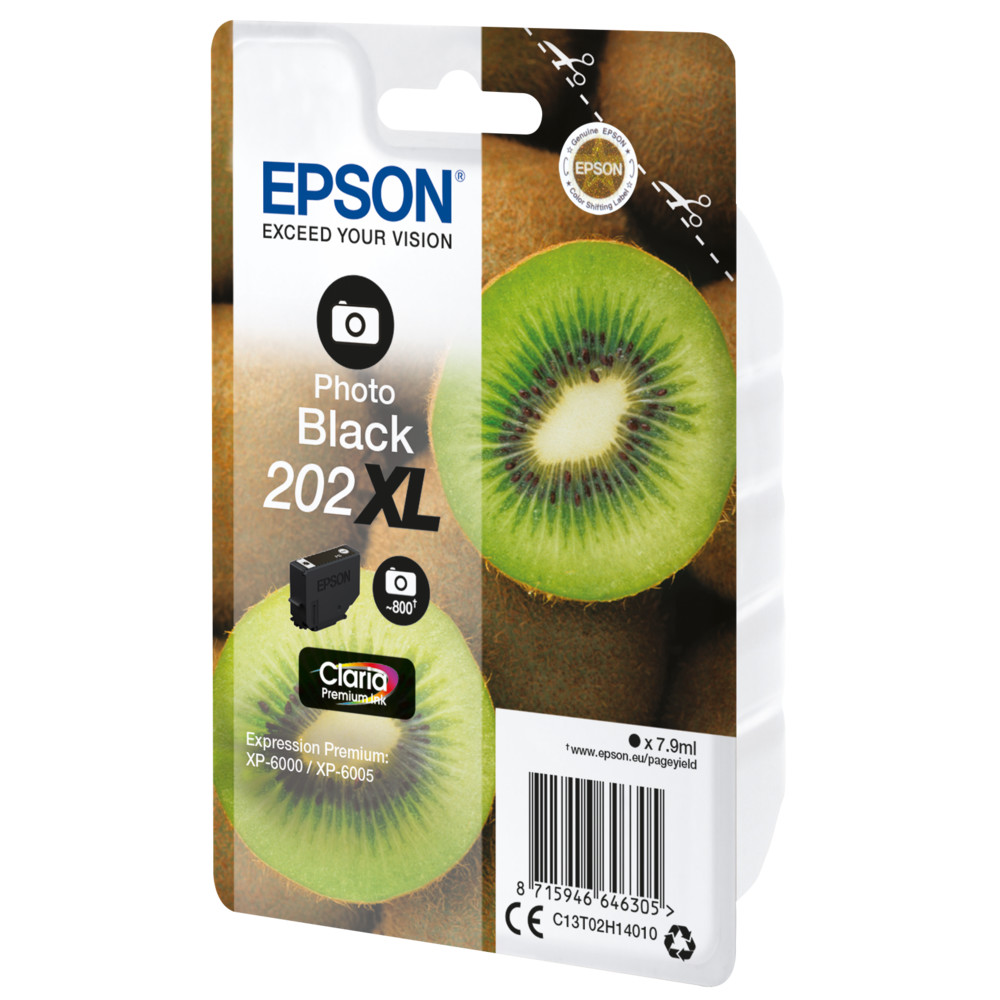 EPSON Singlepack Photo Black 202XL Kiwi